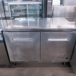 Used Kitchen Equipment Miami Sinks Drop In Double Bowl Fagor Fuf 48 Undercounter Commercial Freezer