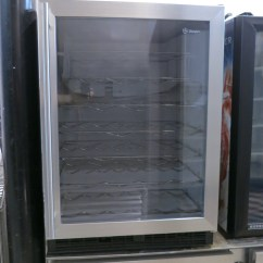 Used Kitchen Equipment Miami Curtain Fabric Ge Zdw24a Rbb Wine Cooler Chiller