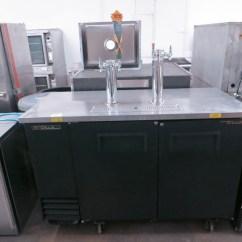 Used Kitchen Equipment Miami Custom Cabinets Richmond Va True Tdd 2 Commercial Draft Beer Cooler