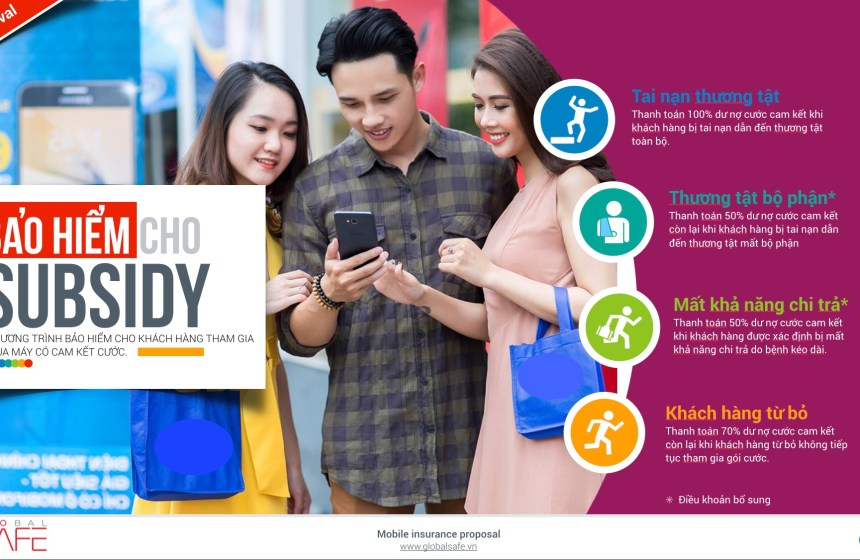 Subsidy insurance for phone packages