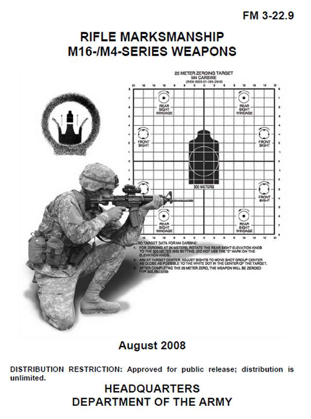 FM 3-22.9: Rifle Marksmanship M16-/M4- Series
