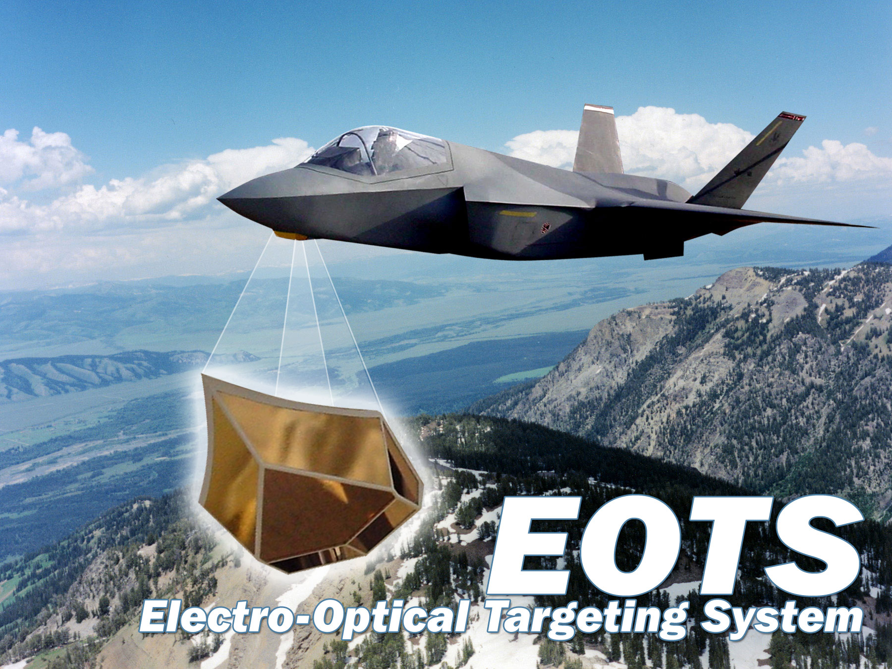 hight resolution of thumbnail electro optical targeting system