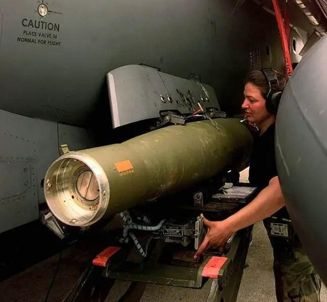 Guided Bomb Unit12 GBU12 Paveway II  Smart Weapons