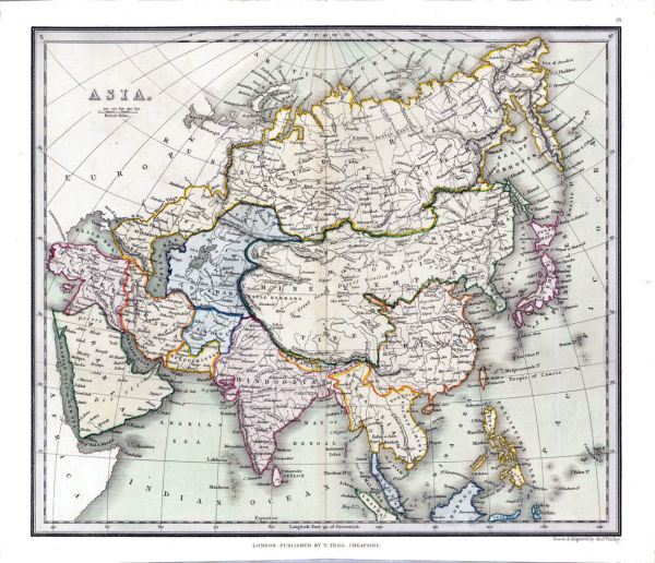 Asia Maps History