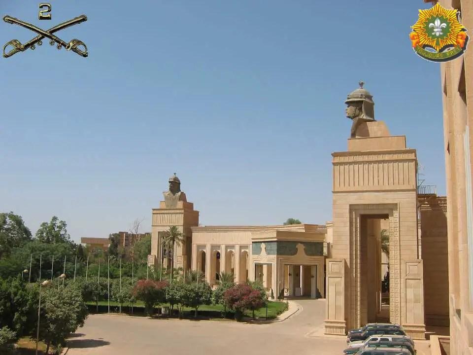 Republican Palace  Iraq Leadership Facilities