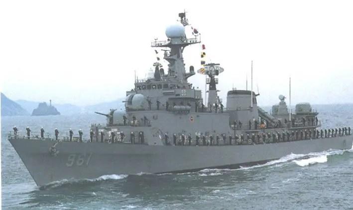 FFK Ulsan class Frigate Korea FFK