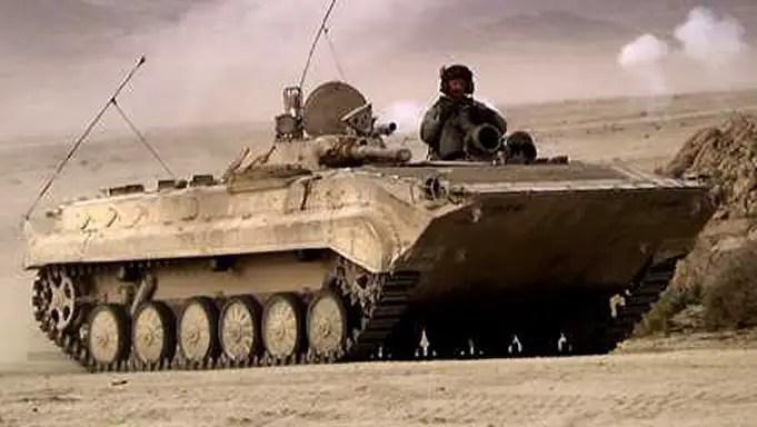 BMP 1 Fighting Vehicle