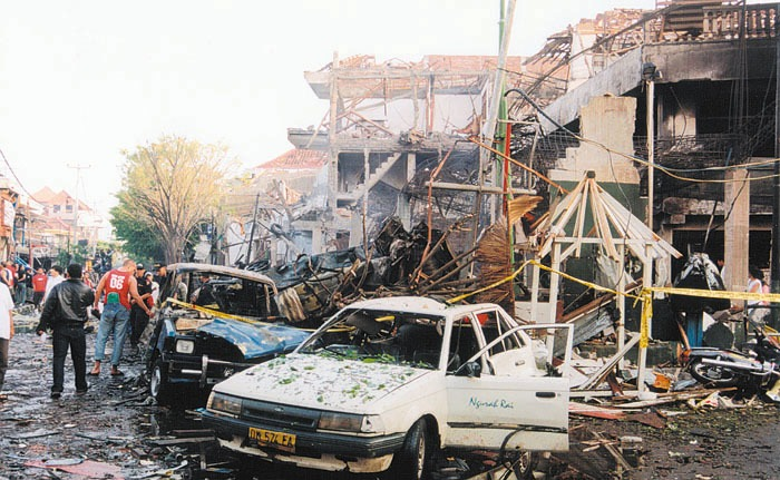 Aftermath of the Bali Bombings