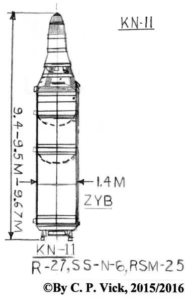 North Korean KN-11 SLBM