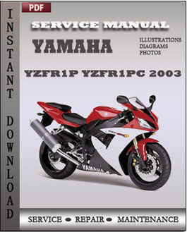 Yamaha YZFR1P YZFR1PC 2003 manual