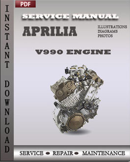 Aprilia V990 Engine manual