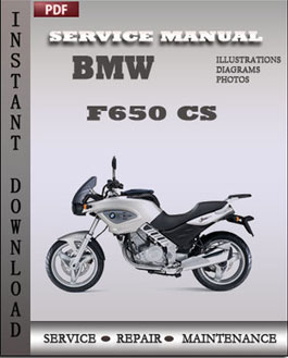 BMW F650 CS manual