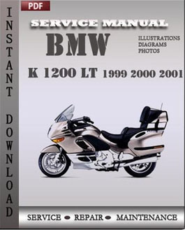 BMW K 1200 LT 1999 2000 2001 manual