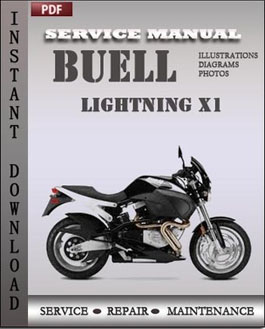 Buell LIghtning X1 manual