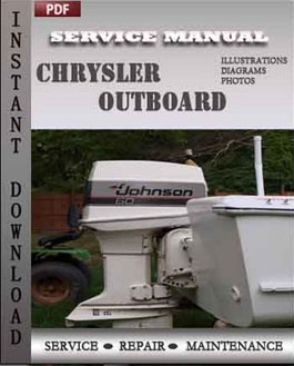 Chrysler 3.5 to 140 Hp 1966-1984 and Force 4 to 125 Hp 1984-1988 manual