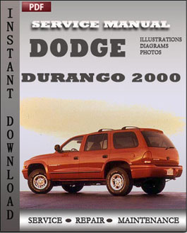 Dodge Durango 2000 manual