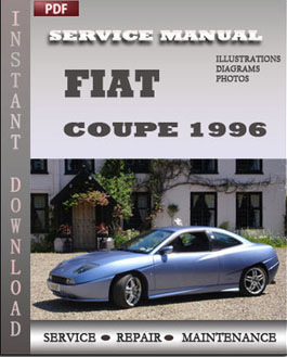 Fiat Coupe 1996 manual