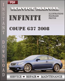 Infiniti Coupe G37 2008 manual
