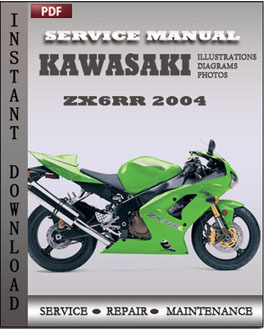 Kawasaki ZX6RR 2004 manual