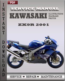 Kawasaki ZX9R 2001 manual