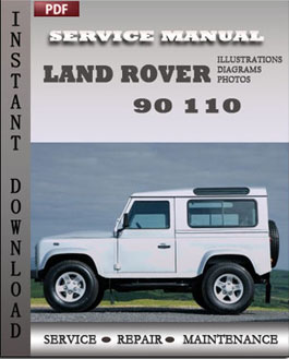 Land Rover 90 110 manual