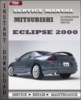 Mitsubishi Eclipse 2000 manual