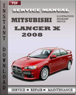 mitsubishi lancer x 2008 how can i quality service repair manuals rh factoryservicemanualspdf wordpress com 1996 Mitsubishi Lancer mitsubishi lancer evolution iv v 1998 workshop manual