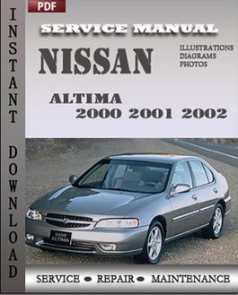 Nissan Altima 2000 2001 2002 manual