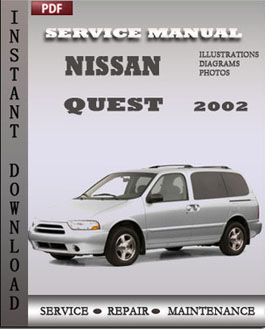 Nissan Quest 2002 manual