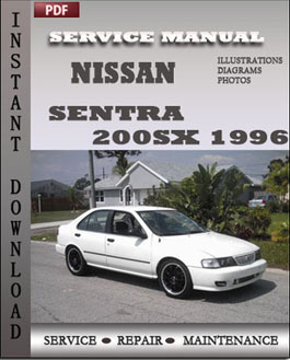 Nissan Sentra 200SX 1996 manual