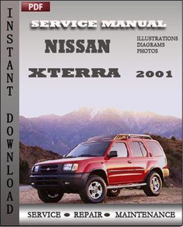 Nissan Xterra 2001 manual