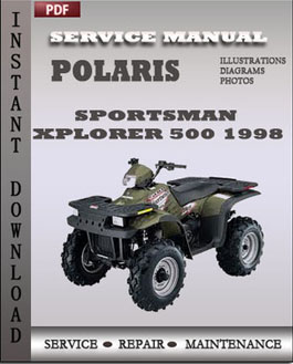 Polaris Sportsman Xplorer 500 1998 manual