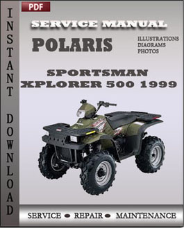 Polaris Sportsman Xplorer 500 1999 manual