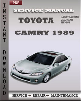 Toyota Camry 1989 manual
