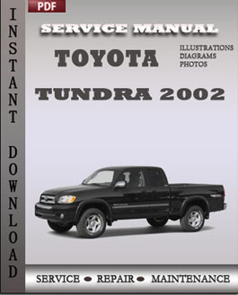 Toyota Tundra 2002 manual