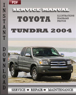 Toyota Tundra 2004 manual
