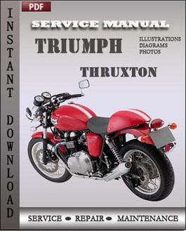 Triumph Thruxton manual