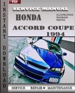 Honda Accord Coupe 1994 global