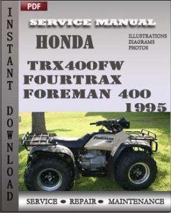 Honda TRX400FW Fourtrax Foreman 400 1995 global