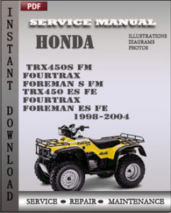 trx450es service manual today manual guide trends sample u2022 rh brookejasmine co 2000 honda 450 es repair manual honda foreman 450 es owners manual