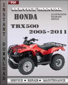 Honda Trx500 2005-2011 global