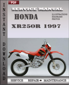 Honda XR250R 1997 global