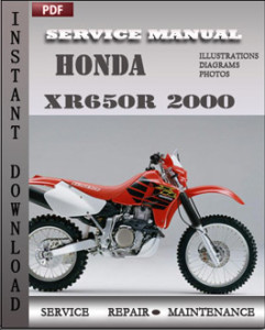 Honda XR650R 2000 global