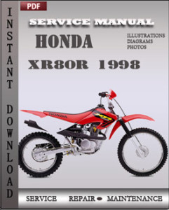 Honda XR80R 1998 global