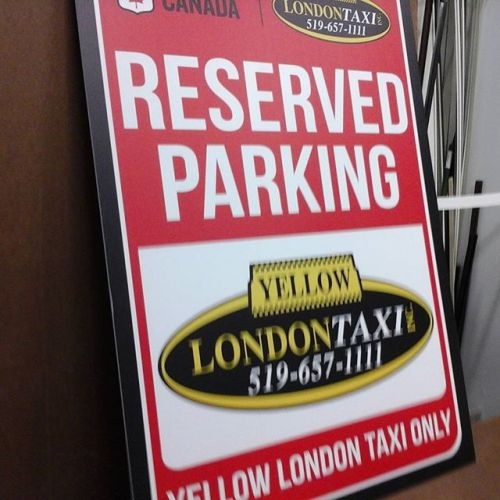 4mm 2x3 Parking Sign