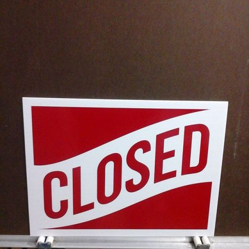 Open/Closed sign, 2 sided