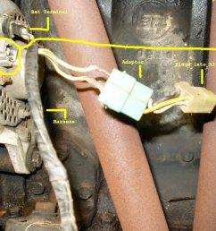 alternator alternator wiring  [ 1600 x 1200 Pixel ]