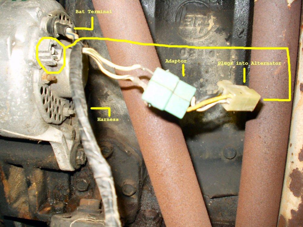 medium resolution of alternator alternator wiring