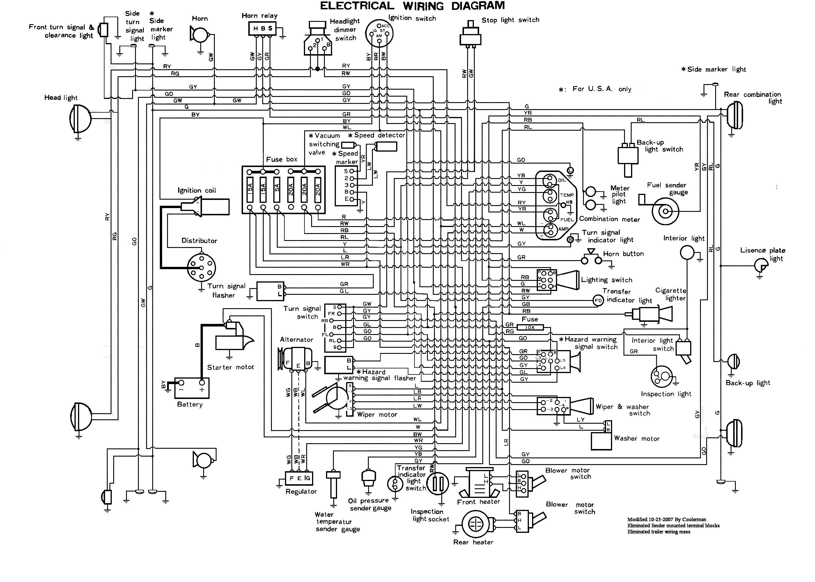 1969 Land Cruiser Wiring Diagram - Wiring Diagram Shw