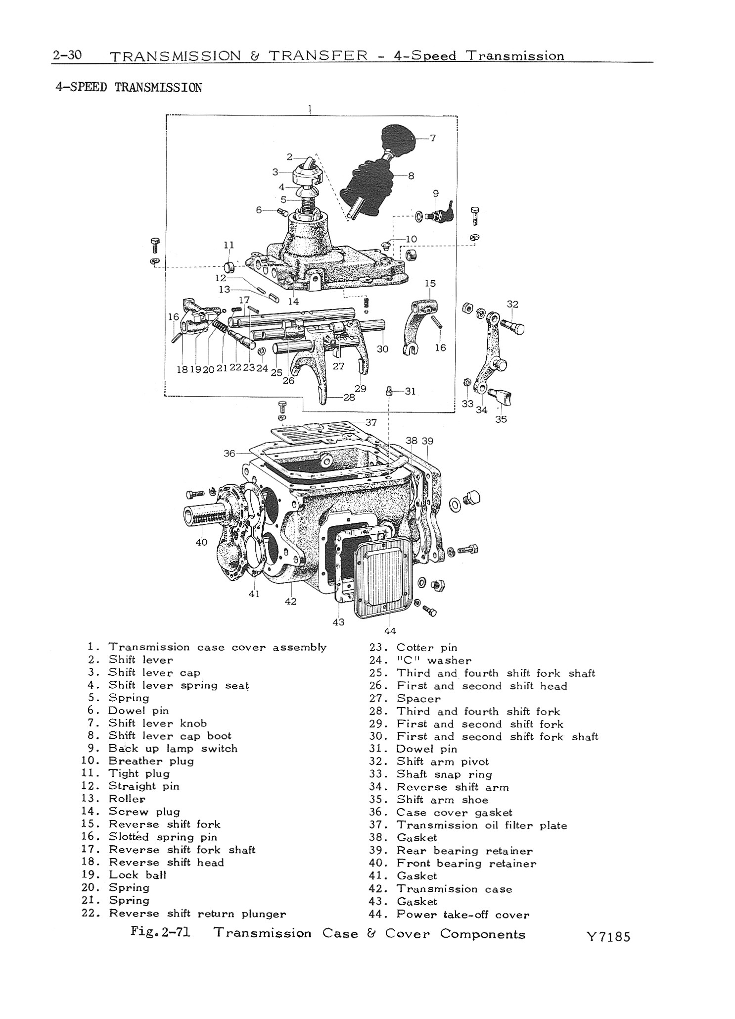 1971 FJ40 Chassis/Body Manual